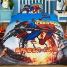 3PCS Twin Size #23 Spiderman Bedding Set Duvet Cover