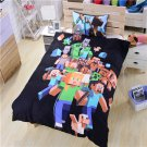 Twin Size #105 Minecraft Mining Bedding Set Duvet Cover