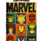 Marvel Avengers #51 Quilt Set Duvet Cover Pillow Case Bedding set Single