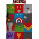 Marvel Avengers #52 Quilt Set Duvet Cover Pillow Case Bedding set Single