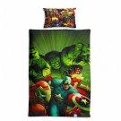 Marvel Avengers #57 Quilt Set Duvet Cover Pillow Case Bedding set Single