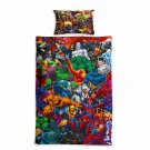 Marvel Avengers #58 Quilt Set Duvet Cover Pillow Case Bedding set Single