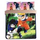 4pcs Queen Size Naruto Anime #42 Kids Bedroom Decor
