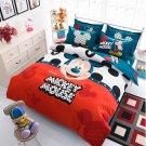 4pcs Queen Size Disney Mickey #01 Bedding Set