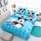 4pcs Full Size Disney Mickey #02 Bedding Set