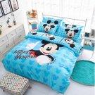 4pcs Queen Size Disney Mickey #02 Bedding Set