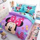 4pcs Queen Size Disney Mickey #03 Bedding Set