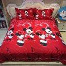 4pcs Twin Size Disney Mickey #04 Bedding Set