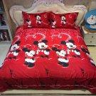 4pcs Queen Size Disney Mickey #04 Bedding Set