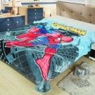 Spiderman fleece blankets 150*200cm Warm Sheet Flat Bedsheet For Kids