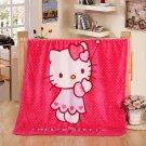 Hello Kitty #10 fleece blankets 100*140cm fleece sleeping throw
