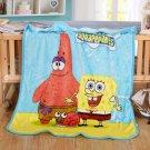 Sponge Bob Squarepants fleece blankets 100*140cm fleece sleeping throw