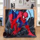 Spiderman fleece blankets 100*140cm fleece sleeping throw
