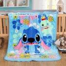 Lilo & Stitch fleece blankets 100*140cm fleece sleeping throw