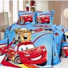 Twin Size 3pcs Lightning McQueen #02 bedding set duvet cover bed sheet pillow cases