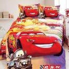 Twin Size 3pcs Lightning McQueen #04 bedding set duvet cover bed sheet pillow cases