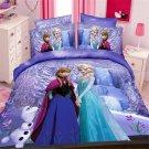 Twin Size 3pcs Disnehy Frozen #02 bedding set duvet cover bed sheet pillow cases