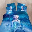 Twin Size 3pcs Disnehy Frozen #04 bedding set duvet cover bed sheet pillow cases