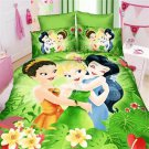 Twin Size 3pcs Princess Girls bedding set duvet cover bed sheet pillow cases