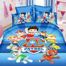 Single Size Paw Patrol Cartoon bedding set duvet cover bed sheet pillow cases