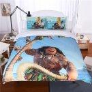 King Size 3pcs Disney Moana #02 bedding set duvet cover bed sheet pillow cases