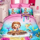 Single Size Sofia the First #03 bedding set duvet cover bed sheet pillow cases