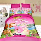 Single Size Sofia the First #04 bedding set duvet cover bed sheet pillow cases