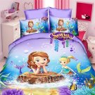 Twin Size 3pcs Sofia the First #02 bedding set duvet cover bed sheet pillow cases
