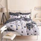 Queen Size 3pcs Batman Cartoon Design Bedding Set Duvet Cover