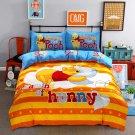Queen Size 4pcs Minion #01 bedding set duvet cover flat sheet pillow cases
