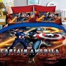 Twin Size 3pcs Captain America #01 bedding set duvet cover bed sheet pillow cases