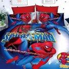 Full Size 3pcs Spiderman #04 bedding set duvet cover bed sheet pillow cases