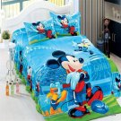 Single Size 2pcs Mickey Minnie Mouse Donald Duck #13 bedding set duvet cover pillow cases