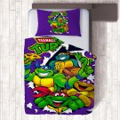 Single Size 2pcs Ninja Turtles #02 bedding set duvet cover pillow cases
