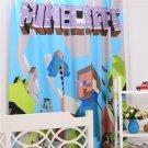 Minecraft Steve #01 Window Curtain for Bedroom