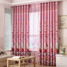 W100 * H200 cm Hello Kitty #02 Printed Curtain for Bedroom Living Room Panel Window Treatments