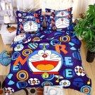 Full Size 4pcs Doraemon New Design #04 bedding set duvet cover flat sheet pillow cases
