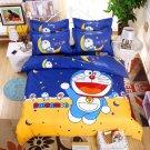 Full Size 4pcs Doraemon New Design #05 bedding set duvet cover flat sheet pillow cases