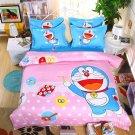Full Size 4pcs Doraemon New Design #06 bedding set duvet cover flat sheet pillow cases