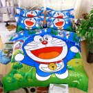 Queen Size 4pcs Doraemon New Design #03 bedding set duvet cover flat sheet pillow cases