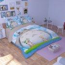 3 pcs King Size My Neighbour Totoro #05 Bedding Set Duvet Cover