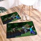 (50cmx80cm) Minecraft #01 Door Mat Non-slip Floor Mat