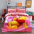 Queen Size 4pcs Winnie the Pooh #07 bedding set duvet cover bed sheet pillow cases