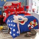 Queen Size 4pcs Winnie the Pooh #13 bedding set duvet cover bed sheet pillow cases