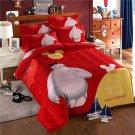 4pcs Queen Size Big Hero #01 Bedding Set Duvet Cover Pillowcase Bed Sheet Gift for Christmas