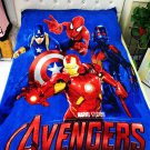 Captain America Marvel Avengers #02 fleece blankets 1400mm*2000mm fleece sleeping throw