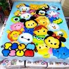 Tsum Tsum Cartoon #01 fleece blankets 1400mm*2000mm fleece sleeping throw