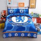 Single 3 pcs Chelsea Footbal Club #02 Kids Bedroom Decor Duvet Cover Bed Sheet Pillow Case