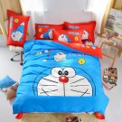 Queen Size 4pcs Doraemon New Design #13 bedding set duvet cover flat sheet pillow cases