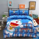 Queen Size 4pcs Doraemon New Design #15 bedding set duvet cover flat sheet pillow cases